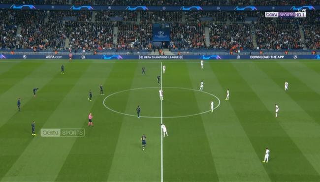 ملخص مباراة باريس سان جيرمان ريال مدريد (3-0) دوري ابطال اوروبا