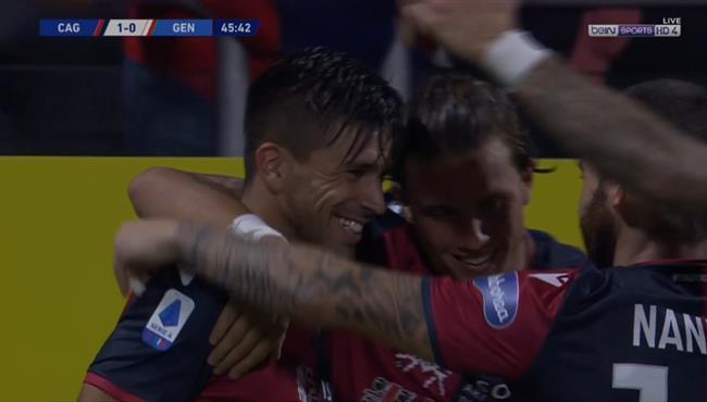 اهداف مباراة جنوي وكالياري (3-1) الدوري الايطالي