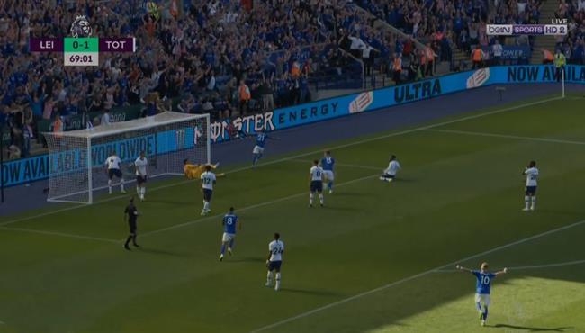 اهداف مباراة توتنهام وليستر سيتي (1-2) الدوري الانجليزي