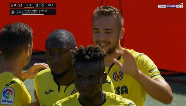 اهداف مباراة فياريال وبلد الوليد (2-0) الدوري الاسباني