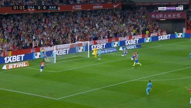 نتيجة بحث الصور عن اهداف مباراة برشلونة وغرناطة