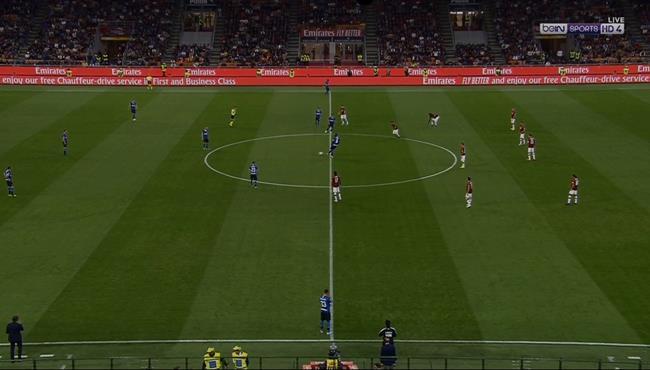 ملخص مباراة انتر ميلان وميلان (2-0) الدوري الايطالي