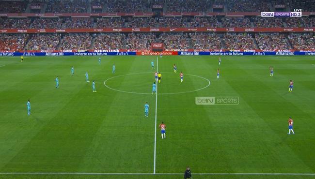 ملخص مباراة برشلونة وغرناطة (0-2) الدوري الاسباني