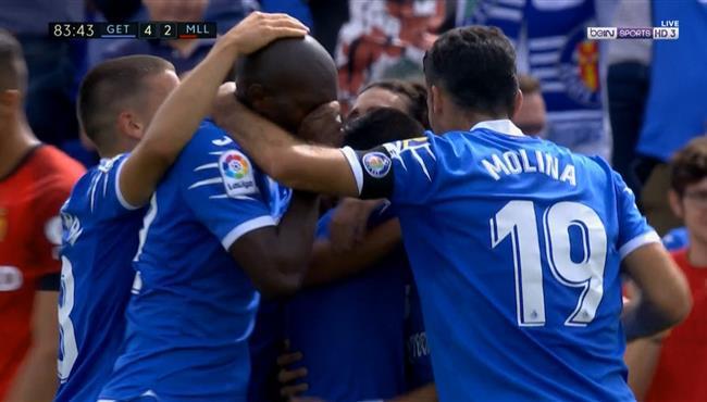 اهداف مباراة خيتافي ومايوركا (4-2) الدوري الاسباني