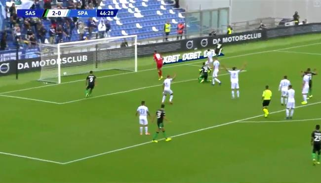 اهداف مباراة ساسولو وسبال (3-0) الدورى الايطالى