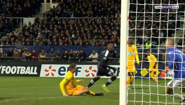 هدف رائع في مباراة بوردو وباو بكاس فرنسا
