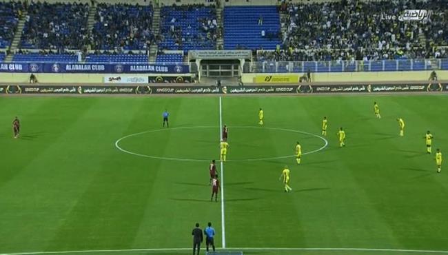 ملخص مباراة النصر والعدالة (1-0) كأس خادم الحرمين