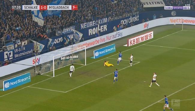 اهداف مباراة شالكة ومونشنجلادباخ (2-0) الدوري الالمانى