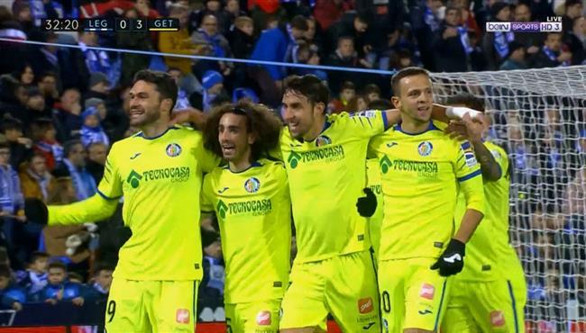اهداف مباراة خيتافي وليجانيس (3-0) الدوري الاسباني