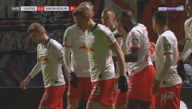 اهداف مباراة لايبزج ويونيون برلين (3-1) الدوري الالماني