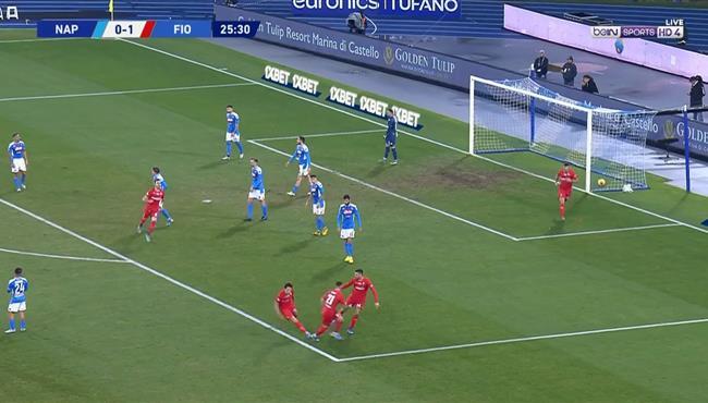اهداف مباراة نابولي وفيورنتينا (0-2) الدوري الايطالي