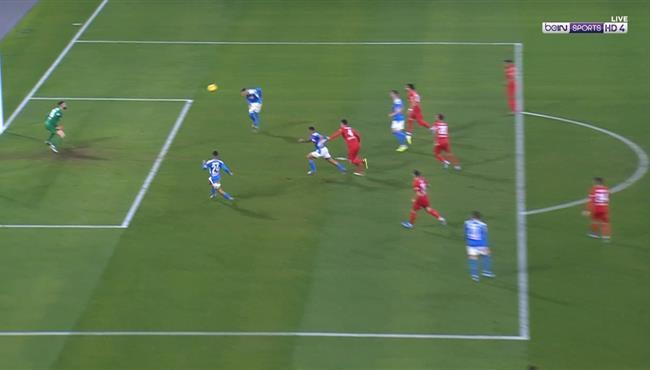 كاييخون يهدر فرصة هدف محقق لنابولي امام فيورنتينا