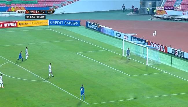 هدف اوزبكستان العالمي في مرمي الامارات .. كأس اسيا تحت 23 سنة