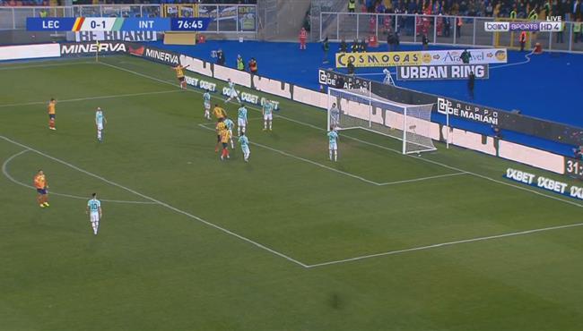 اهداف مباراة انتر ميلان وليتشي (1-1) الدوري الايطالي