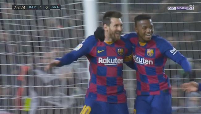 هدف فوز برشلونة على غرناطة (1-0) الدوري الاسباني