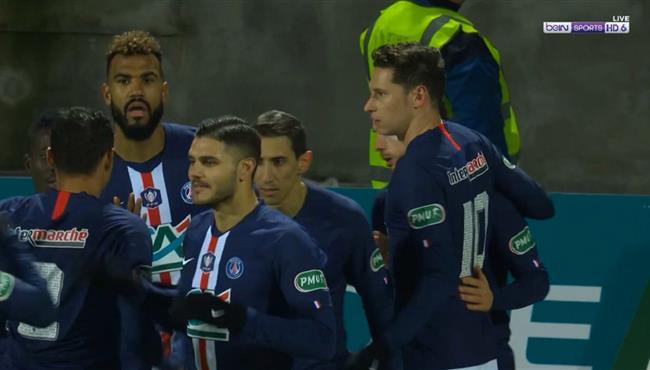 هدف فوز باريس سان جيرمان على لوريان (1-0) كاس فرنسا