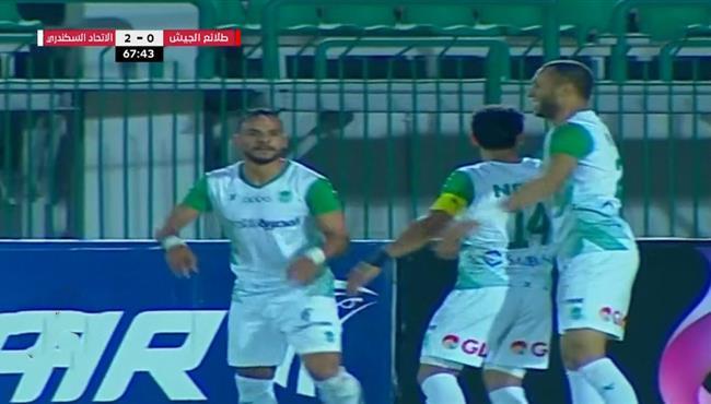 اهداف مباراة الاتحاد السكندري وطلائع الجيش (3-0) الدوري المصري