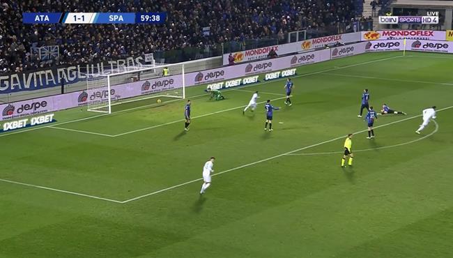 اهداف مباراة اتلانتا وسبال (1-2) الدوري الايطالي