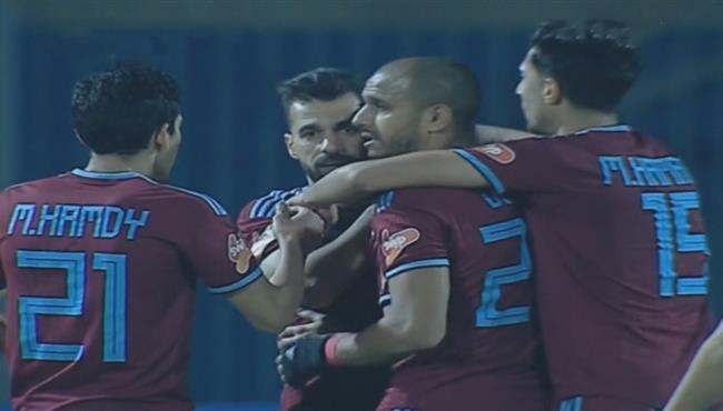 اهداف مباراة بيراميدز ومصر المقاصة (3-1) الدوري المصري