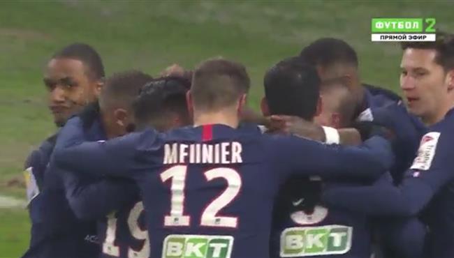 اهداف مباراة باريس سان جيرمان وريم (3-0) كاس فرنسا