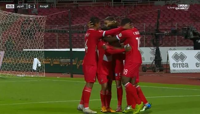 اهداف مباراة الوحدة والحزم (5-1) الدوري السعودي