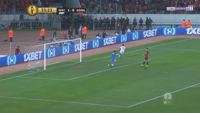 هدف الوداد الثاني فى مرمى اتحاد العاصمه (2-0) دوري ابطال افريقيا
