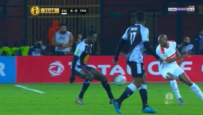 مهارة رائعه من شكيابالا في مباراة الزمالك ومازيمبي