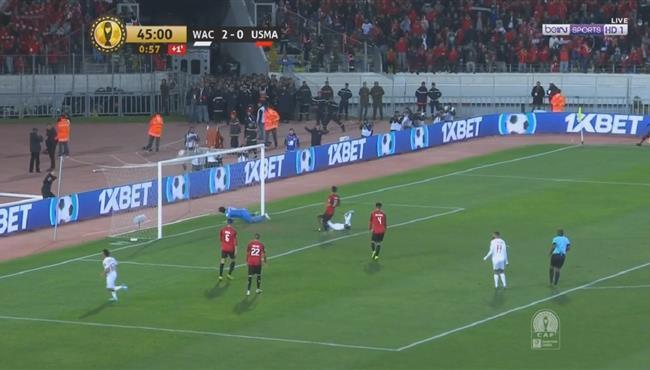 هدف الوداد الثالث فى مرمى اتحاد العاصمه (3-0) دوري ابطال افريقيا