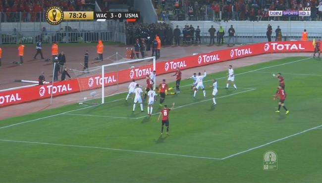 هدف اتحاد العاصمة الاول فى مرمى الوداد (1-3) دوري ابطال افريقيا