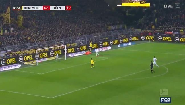 اهداف مباراة بوروسيا دورتموند وكولن (5-1) الدوري الالماني