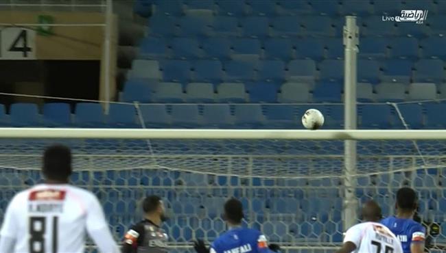 العارضة تحرم دانيلو اسبريا من تسجيل الهدف الاول في مرمي الهلال