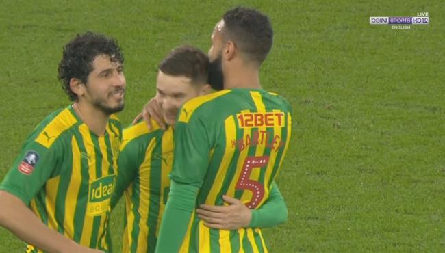 هدف فوز وست بروميتش علي وست هام (1-0) كأس الاتحاد الانجليزي