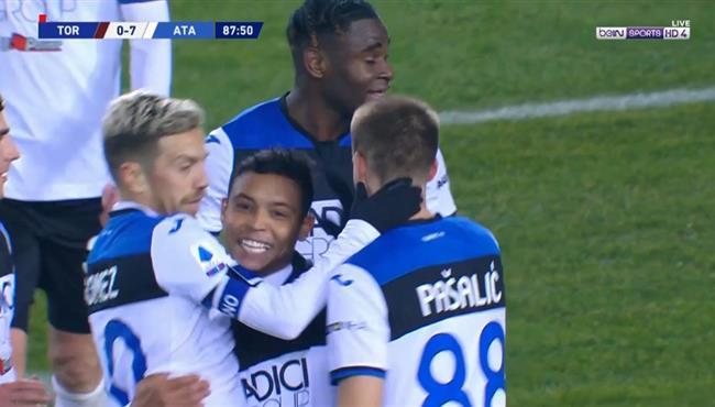 اهداف مباراة اتالانتا وتورينو (7-0) الدوري الايطالي