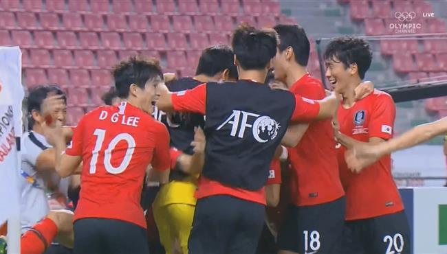 هدف فوز كوريا الجنوبية على السعودية (1-0) كاس اسيا تحت 23 سنة