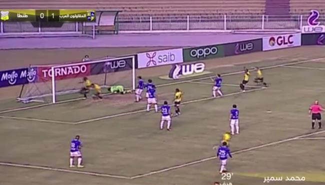 اهداف مباراة المقاولون العرب وطنطا (2-0) الدوري المصري