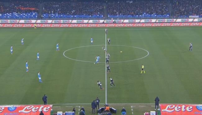 ملخص مباراة يوفنتوس ونابولي (1-2) الدوري الايطالي