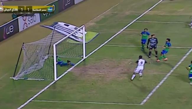 اهداف مباراة مصر المقاصة وطلائع الجيش (1-1) الدوري المصري