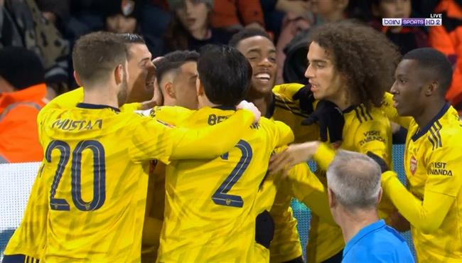 اهداف مباراة ارسنال وبورنموث (2-1) كأس الاتحاد الانجليزي