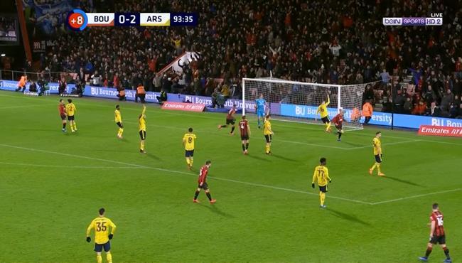 هدف بورنموث في مرمي ارسنال (1-2) كأس الاتحاد الانجليزي