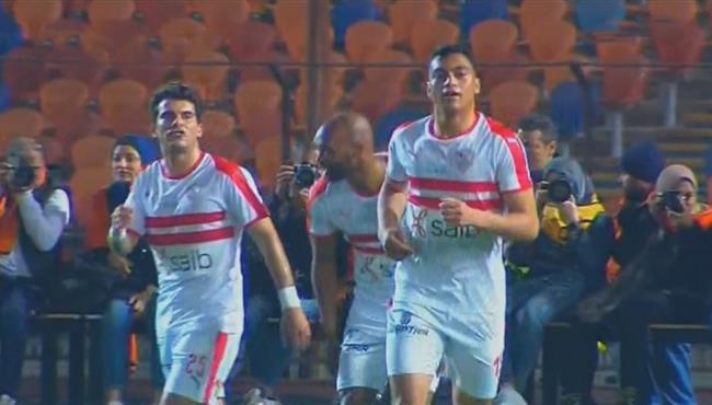 اهداف مباراة الزمالك ووادي دجلة (1-1) الدوري المصري