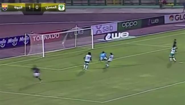 اهداف مباراة الجونة والمصري (2-1) الدوري المصري