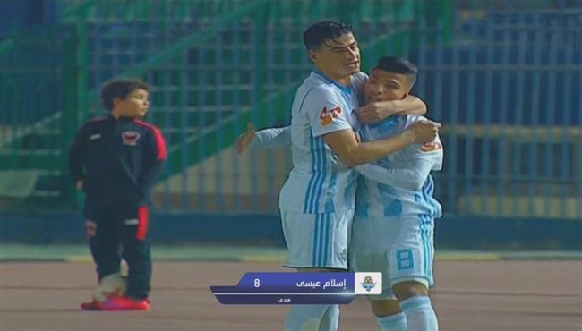 اهداف مباراة بيراميدز واف سي مصر (2-1) الدوري المصري
