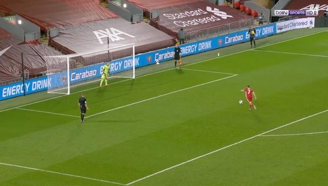 ركلات ترجيح مباراة ليفربول وارسنال في كاس رابطة الاندية الانجليزية