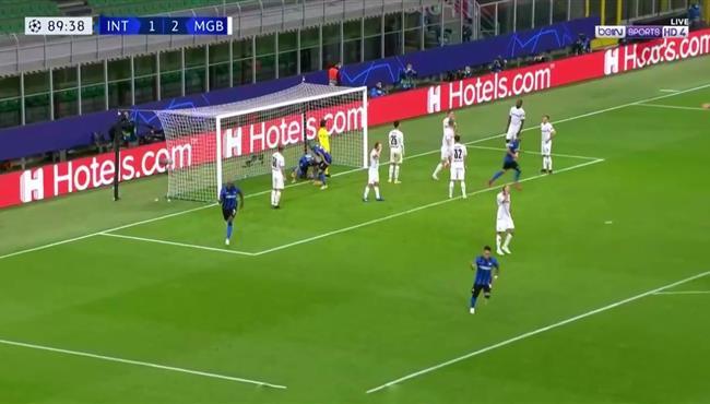 اهداف مباراة انتر ميلان ومونشنجلادباخ (2-2) دوري ابطال اوروبا