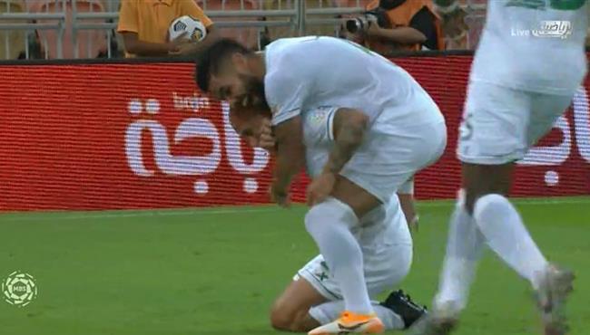هدف الاهلي الرائع في مرمي الوحدة (1-0) الدوري السعودي