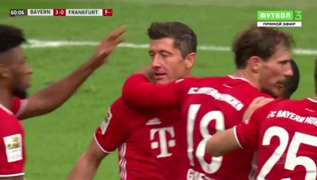 اهداف مباراة بايرن ميونخ واينتراخت فرانكفورت (5-0) الدوري الالماني