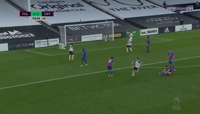 اهداف مباراة كريستال بالاس وفولهام (2-1) الدوري الانجليزي
