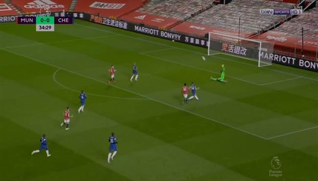 تصدي ميندي الرائع ينقذ تشيلسي من هدف محقق لمانشستر يونايتد