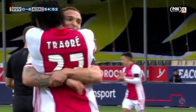 اهداف مباراة اياكس وفينلو (13-0) الدوري الهولندي