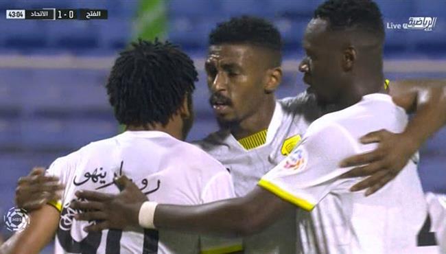 هدف الاتحاد الاول فى مرمي الفتح (1-0) الدوري السعودي